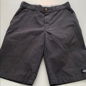 "Dickies men's 13"" regular fit stripes shorts"